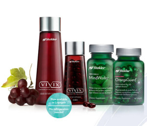 Shaklee anti-aging solutions